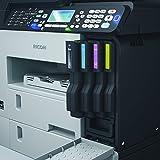 Ricoh Aficio SG 3110SFNW Multifunktionsgerät (Kopierer, Drucker, Scanner, Fax, Ethernet 10 Base-T/100 Base-TX, Wireless LAN, USB 2.0) grau