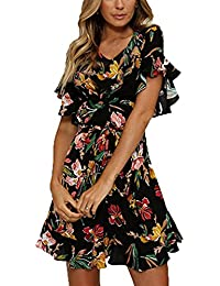 buy online 024bf 0e96b Amazon.it: fiori - A tunica / Vestiti / Donna: Abbigliamento