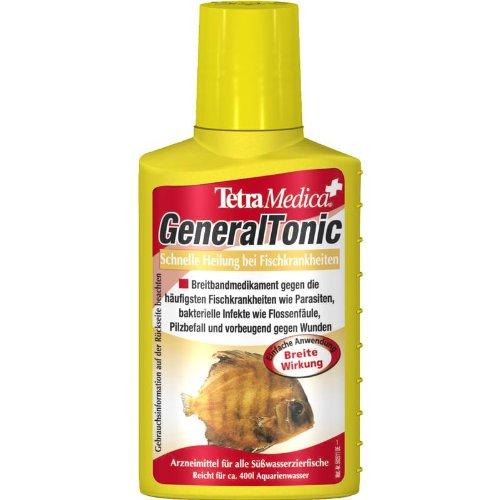 Tetra Medica GeneralTonic (Arzneimittel für tropische Zierfische u.a. zur Behandlung von bakteriellen Infekten und Pilzbefall), 100 ml Flasche