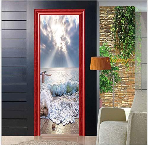 Sprühen Sie kreative Tür-Aufkleber-Persönlichkeits-kreative Haupthotel-Mode-dekorative Aufkleber