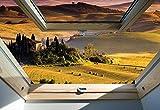 Toskana 3D-Dachfenster-An... Ansicht