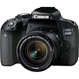 Canon Digitalkamera EOS 800d + EF-S 18–55mm f/4–5.6IS STM–Version Canon Pass