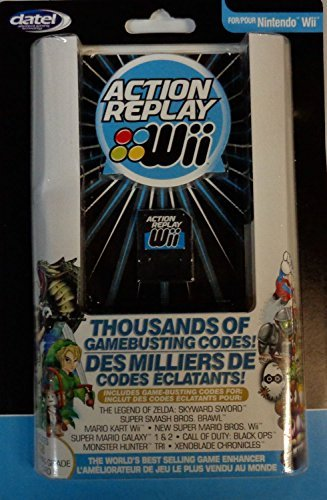 Wii Action Replay with 1gb Gaming Grade Sd Card by Datel Wii Action Replay