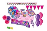 DECORATA PARTY kit n59 coordinato compleanno Shimmer & Shine