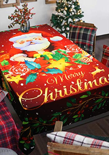 Aitsite Christmas Mantel Santa Elk Decoraciones Navideñas