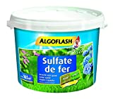 ALGOFLASH Sulfate de fer, Jusqu'à 165m², Dosette incluse, 5 kg, MOS5AR