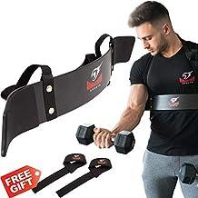 Premium Arm Blaster + BONUS Premium Lifting Straps, Biceps Aislador Blaster Bomber Levantamiento de Pesas