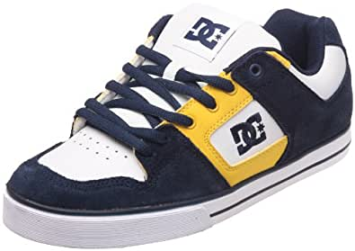 DC Shoes Pure Slim Mens Shoe D0301970, Herren Sneaker, Blau (DC Navy/White DNW), EU 37 (UK 4) (US 5)