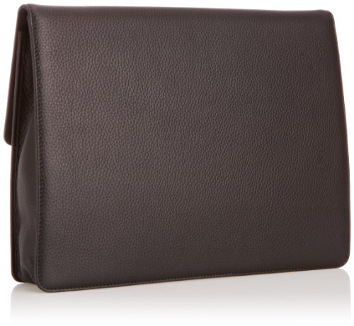 Leonhard Heyden  Oslo Document Wallet 3723, sacoche ordinateur portable mixte adulte Noir - noir