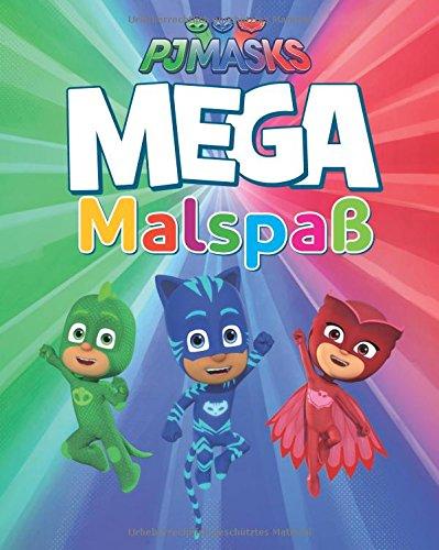 PJ Masks MEGA Malspaß (Delphin-malbuch)