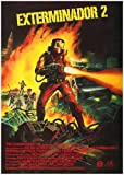 Exterminator 2 Poster 01 A3 Box Canvas Print