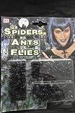 widmann-8243°F juego insectos Arañas, 25moscas, 50hormigas Unisex, Color Negro, One Size, 8243°F