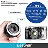 Neewer NW-E-50-2.0 50mm f/2.0 Manueller Fokus Prime - 4