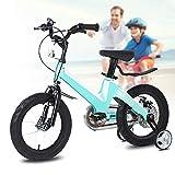 Q&J Vélo pour Enfants à Hauteur réglable en Alliage de magnésium Kids Bike avec...