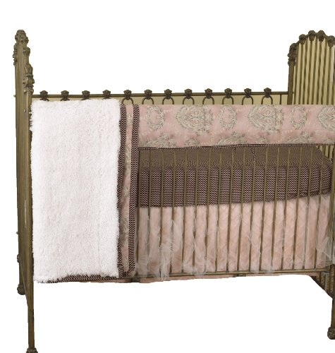 Cotton Tale Designs avant Crib Rail Cover Up Lot, Nightingale en coton Tale Designs