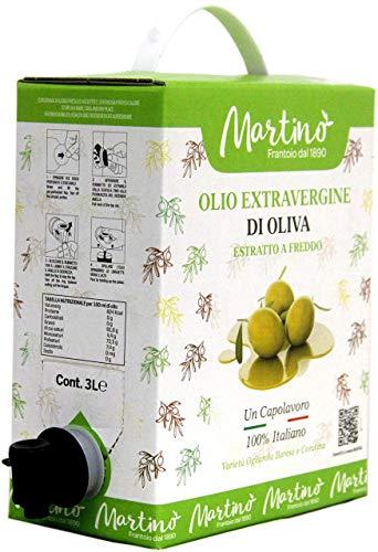 3 litri di 100% Italiano Olio Extravergine di Oliva
