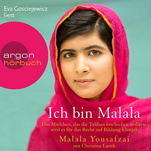 Buchseite und Rezensionen zu 'Ich bin Malala' von Malala Yousafzai