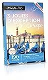 WONDERBOX - Coffret cadeau - 3 JOURS D'EXCEPTION EN EUROPE