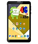 Ikall N4 Tablet (7 inch, 16GB, 4G + LTE + Voice Calling), Black