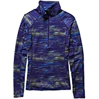 Under Armour Fitness para Mujer para-Camiseta CG Cozy Printed 1/2 Zip Morado Epp/Jzb/MSV Talla:Medium
