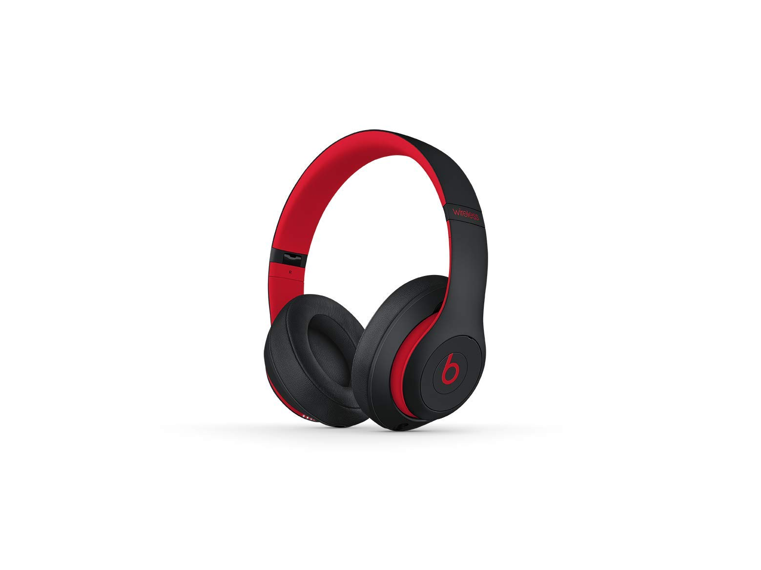 Beats Studio3 Wireless Over-Ear Kopfhörer – Die Beats Decade Collection – Klassisch Rot-Schwarz