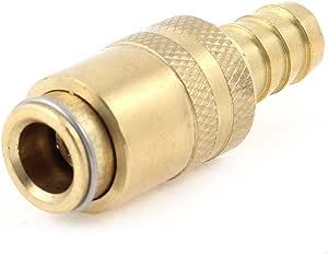 5pcs Druckluftkupplung Euro männlich Schlauchanschluß Stecknippel Quick Release