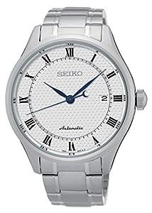 Seiko–Reloj de pulsera analógico automático para hombre acero inoxidable srp767K1 de Seiko
