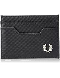 Fred Perry Hommes Pique Card Holder Noir