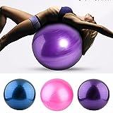 Blackpoolal Anti-Burst Gymnastikball Yoga Ball 75cm / 85cm 300 kg Bürostuhl Sitzball Fitnessball Pilates Yoga-Kugel, Pezziball als Fitness Kleingeräte und Balance Stuhl im Gym-Home-Büro + Pumpe