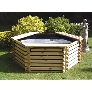 GARDEN POOL 175 GALLON & LINER – FISH POND/TANK 51z724W8JYL