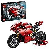 LEGO® Technic Ducati Panigale V4 R 42107 bouwset van een speelgoedmotor (646 onderdelen), bouw zelf een motor met versnellingsbak en vering