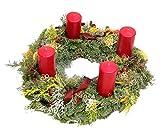 Adventskranz Klassische Weihnachten Rot Size 40 Euro
