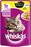 Whiskas Katzenfutter Nassfutter Ragout mit Huhn in Gelee, (1 x 85 g)