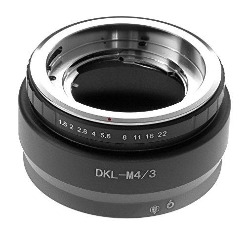 Adaptador Objetivo Voigtlander Retina DKL Micro 4/3