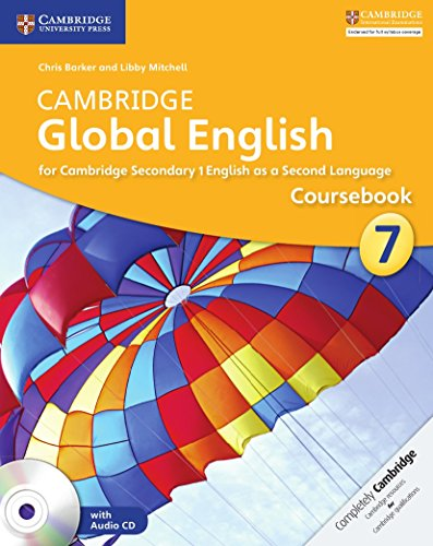 Cambridge Global English Stage 7 Coursebook with Audio CD: for Cambridge Secondary 1 English as a Second Language (Cambridge International Examin)