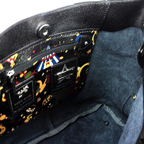 Borsa PIERO GUIDI Magic Circus - Classic Leather Donna - 212491082-01 nero
