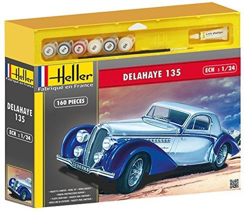 heller-50707-maquette-voiture-delahaye-135-echelle-1-24-kit