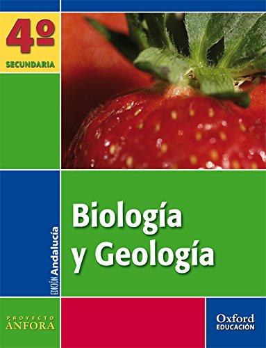 Biología y Geología 4º ESO Ánfora (Andalucía): Libro del Alumno - 9788467343151