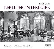 125 S. mit zahlr. Schwarzweißbildern. 4° Kart.mS., *neuwertig*, Zwischen 1912 und 1931 fotografierte Waldemar Titzenthaler für das Gesellschaftsmagazin 'Die Dame' die Wohnungen berühmter Schauspielerinnen, Sängerinnen, Regisseure, Maler und Architekt...