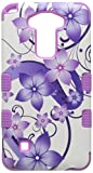 Purple Hibiscus Flower Romance/Electric Purple : Asmyna Cell Phone Case for LG K520 (Stylus 2) - Purple Hibiscus Flower Romance/Electric Purple
