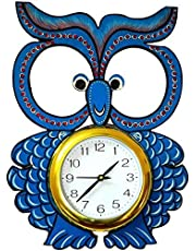 OWL kids wall clock by KK CRAFT