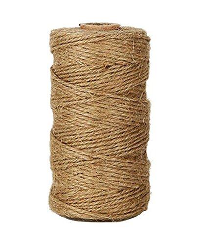 Lumanuby 1 rollo cordel yute natural vintage