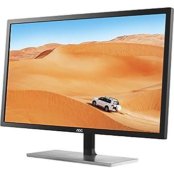 """AOC Q3279VWF Monitor da 32"""", Pannello MVA, QHD (2580 x 1440), 5msec, DVI, HDMI, DP, Nero"""