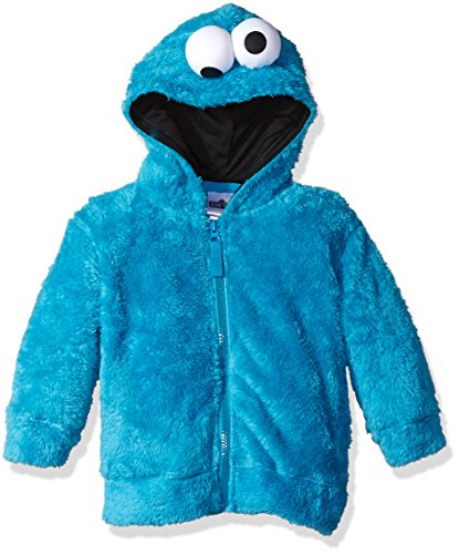 Cookie Monster Sesame Street Faux Fur Unisex Fancy dress costume Hoodie ()