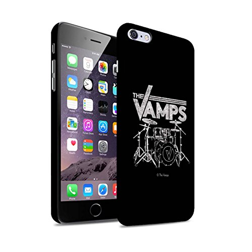Offiziell The Vamps Hülle / Matte Snap-On Case für Apple iPhone 6S+/Plus / Pack 6pcs Muster / The Vamps Graffiti Band Logo Kollektion Schlagzeug