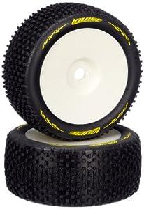 Jamara 54861 - Neumáticos + Llantas (Escala 01:08, T-Pirate, Muy Blandos)