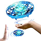 Toyshine UFO RC Flying Toy, Infrared Induction Flying Ball, Drone Light for Kids