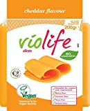 Violife Cheese 'Cheddar' Slices Dairy Free (Coconut Based), 200 g