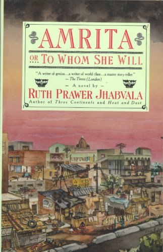 Amrita: Or to Whom She Will