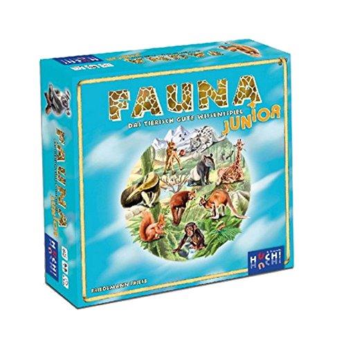 Huch & Friends 77000 Fauna Junior - Das tierisch gute Wissensspiel